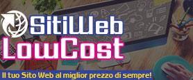 Siti Web Low Cost - Realizzazione Siti Web Professionali