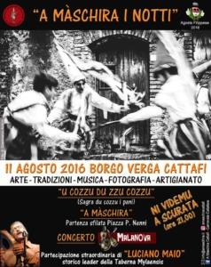 Carnevale Cattafese Sicilia - A Màschira i Notti
