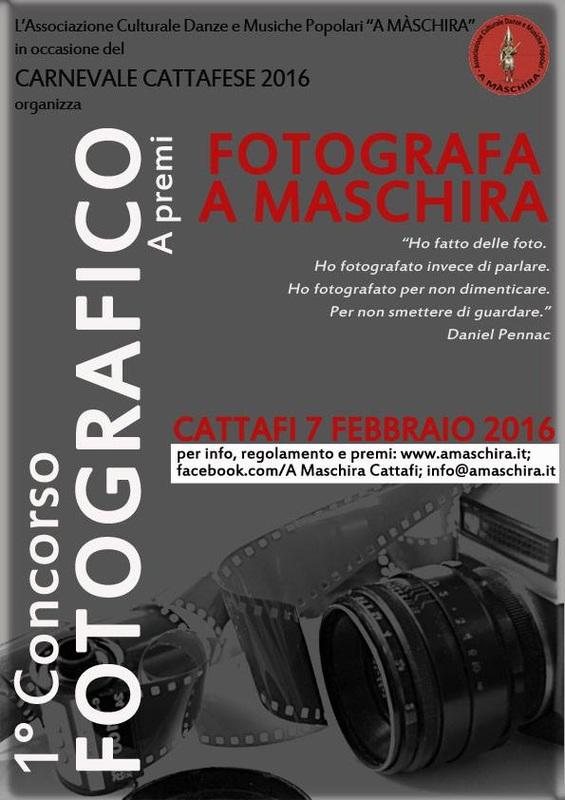 Concorso Fotografico - Fotografa A Maschira
