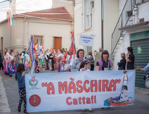 """""""A Màschira"""" al 6° Raduno delle Maschere Antropologiche di Tricarico"""